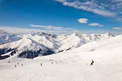 The winter resort Mayrhofen, Austria Royalty Free Stock Photos
