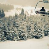 Winter resort Stock Images