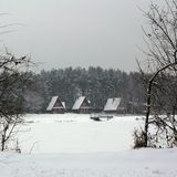 Winter resort Royalty Free Stock Image