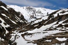 Winter Resort Vall de Nuria Stock Images