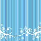 Winter retro background Royalty Free Stock Images
