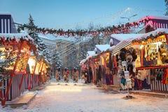 Winter in Riga Royalty Free Stock Image