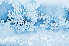 Winter rime background Stock Images