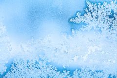 Winter rime background Royalty Free Stock Photos