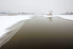 Winter river Royalty Free Stock Image