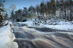 Winter river Royalty Free Stock Images