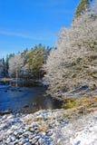 winter river Zdjęcie Stock