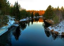Free Winter River Stock Image - 3926091