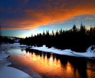Free Winter River Royalty Free Stock Image - 4528126