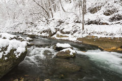 Winter River Scenic Royalty Free Stock Photography