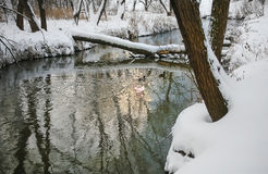 Winter river Royalty Free Stock Photo
