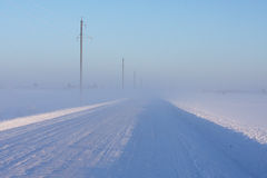 Free Winter Road Royalty Free Stock Images - 13100899