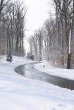 Winter road Royalty Free Stock Photo