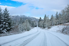 Free Winter Road Stock Photos - 22794303