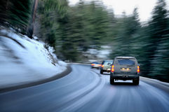 Free Winter Road Royalty Free Stock Photography - 34260037