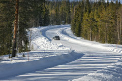 Free Winter Road Royalty Free Stock Photography - 45036367