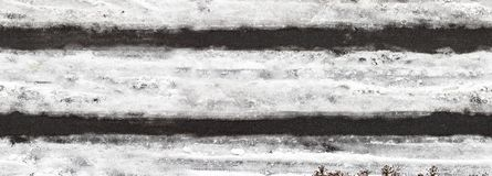 Winter road, seamless texture, tile horizontal. Road texture royalty free stock photo