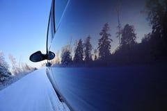 Winter road trip Royalty Free Stock Photos