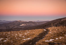 Winter at Roan Mountain Stock Images