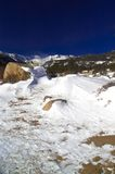 Winter In The Rocky Mountains Royalty Free Stock Images