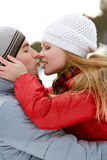Winter romance Stock Photography