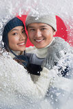 Winter romance Stock Image