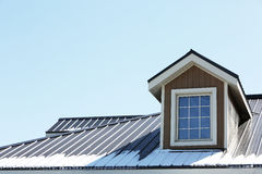 Winter Rooftop Royalty Free Stock Photography