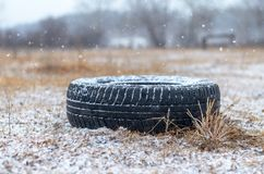 Winter rubber. Stock Photography