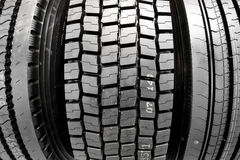 Winter rubber wheels with torns Royalty Free Stock Image