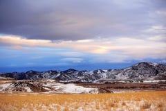 Winter in rural area of Montana,  USA. Winter season in rural area of Montana,  USA Royalty Free Stock Photos