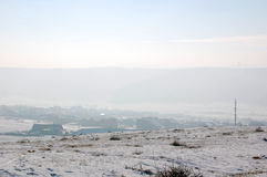 Winter rural landscape Royalty Free Stock Images