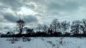 Winter rural landscape.. Winter rural landscape in the Voronezh region of Russia Stock Photos