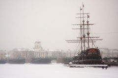Winter in Russia Royalty Free Stock Photos