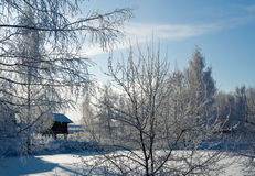 Winter russian country Stock Images