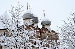 Winter Russian landscape