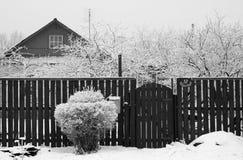Winter village Royalty Free Stock Photos