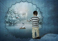 The Winter's Tale Royalty Free Stock Image