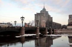 Winter in Saint-Petersburg Stock Images