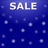 Winter sale Stock Images