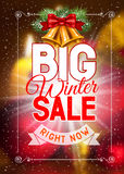 Winter sale Stock Image