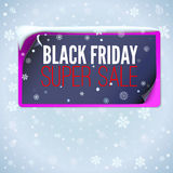 Winter sale background Stock Photos