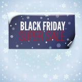 Winter sale background Stock Photo