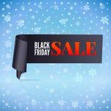 Winter sale background Stock Image