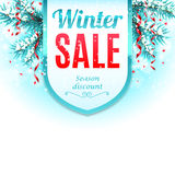 Winter Sale Banner Royalty Free Stock Image