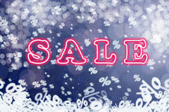 Winter sale Royalty Free Stock Photos