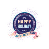 Winter sale concept Stock Photography