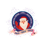 Winter sale concept Royalty Free Stock Image