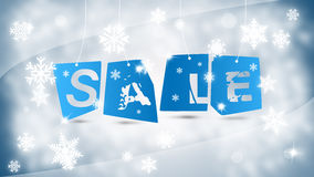 Winter sale concept Royalty Free Stock Images