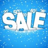 Winter Sale Concept Stock Photo