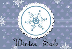 Winter sale Royalty Free Stock Image